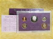 1987-S Proof Set Kennedy Half Quarter Dime Nickel Cent US Mint 5 Coins w/Box